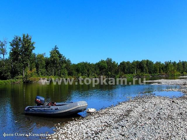 Река камчатка самая крупная река края